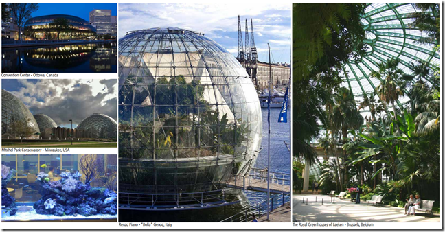 Seattle Plans For A Biosphere Seattle Sphere The Bis